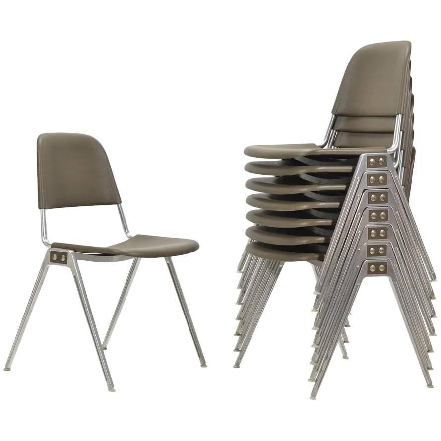Don Albinson Stacking Side Chairs by Knoll Set of 14