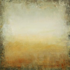 Golden Field 210408, Painting, Acrylic on Canvas