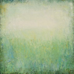 Green Field 210311, Painting, Acrylic on Canvas