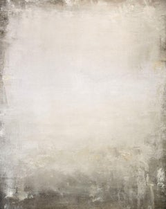 Soft White Field 201214, Painting, Acrylic on Canvas