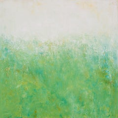 Spring Green, Painting, Acrylic on Canvas