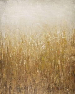 Summer Gold 210219, Painting, Acrylic on Canvas