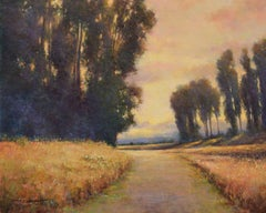 Summer Road, Painting, Oil on MDF Panel