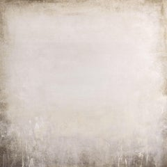 White Field 210105, Painting, Acrylic on Canvas
