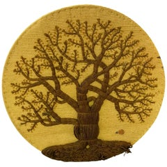 Don Freedman Fabulous Mid-Century Modern Tree of Life Tapestry Wall Hanging 1978