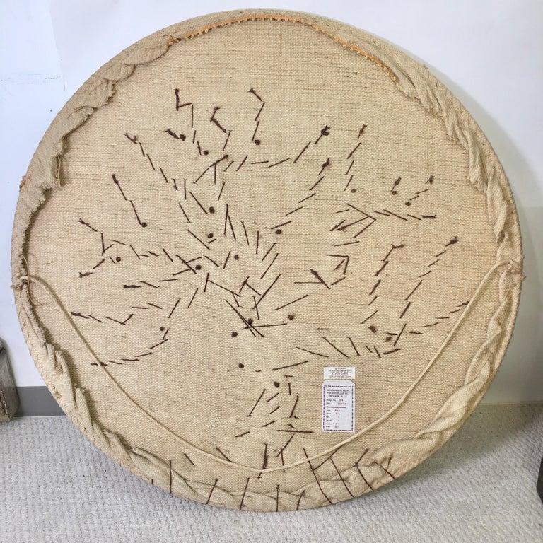 Jute Don Freedman Tree of Life Woven Fiber Art For Sale