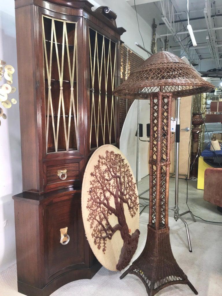 Don Freedman Tree of Life Woven Fiber Art For Sale 2