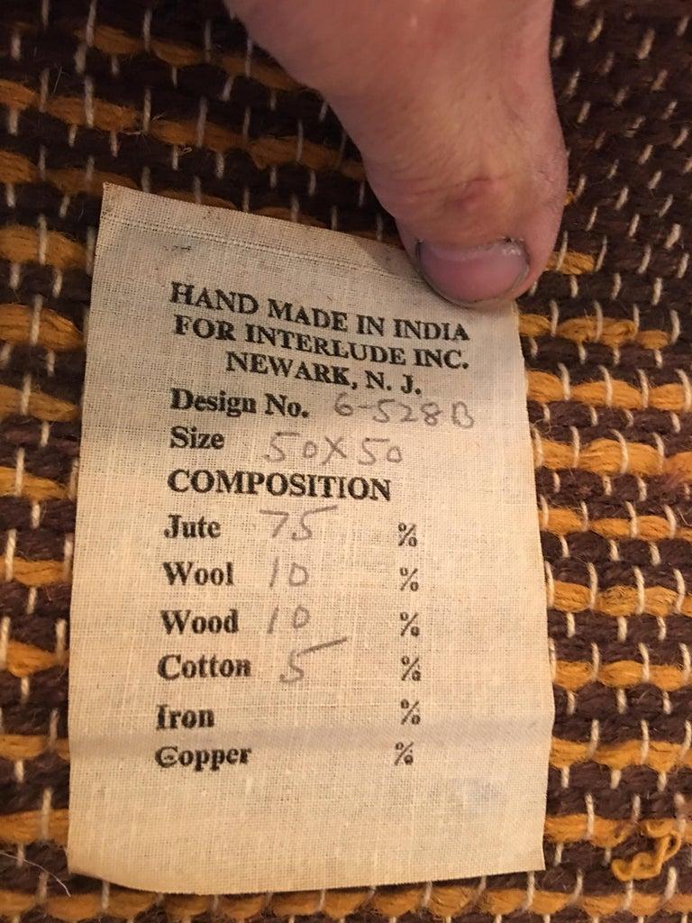 Natural Fiber Don Freedman Woven Owl Tapestry For Sale
