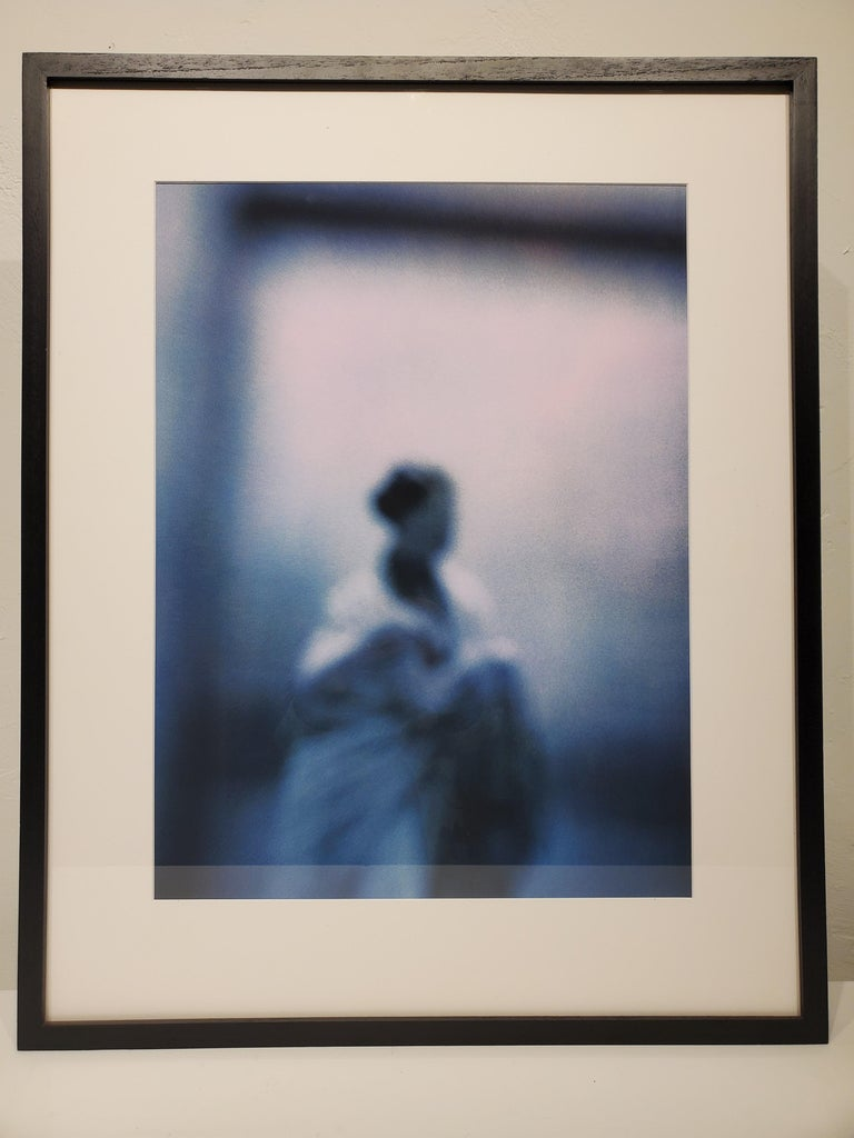 Don Freeman Blue Lady - Contemporary Photograph by Don Freeman