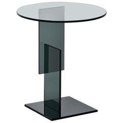 Don Gerrit Low Table in Transparent Glass, by Jean-Marie Massaud for Glas Italia