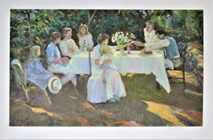 """Family Reunion"" Large original color serigraph"