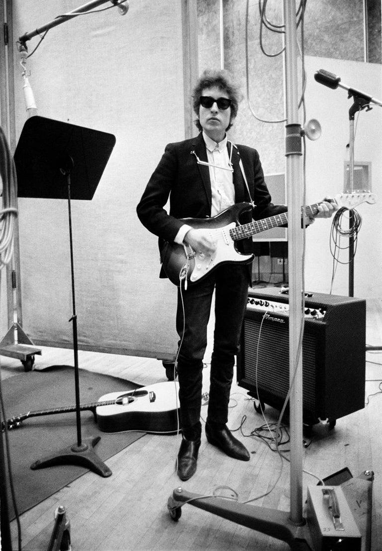 Bob Dylan in New York City 1965   5th studio album in Studio A,