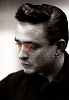 Johnny Cash by Don Hunstein - Music, Country, USA, Icon, Guitar, Photography