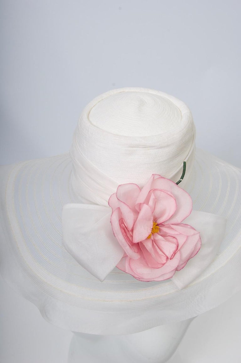 Don Marshall Wide-Brimmed White Hat For Sale 1