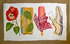 Tropical Punch Large Pop Art American Photorealist Lithograph