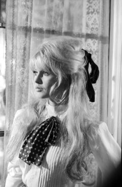 Brigitte Bardot in Window Light on the Set of Viva Maria Fine Art Print