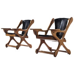 Don S. Shoemaker Two Chairs for Señal Furniture Mexico