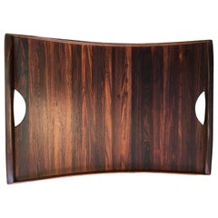 Don Shoemaker Exotic Hardwood Serving Tray