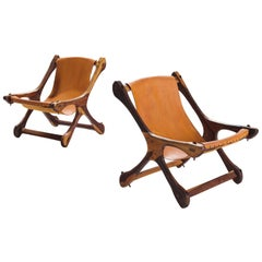 Don Shoemaker for Mexican Señal Furniture in Cocobolo and Leather