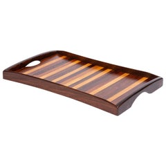 Don Shoemaker for Señal Inlaid Tray with Handles