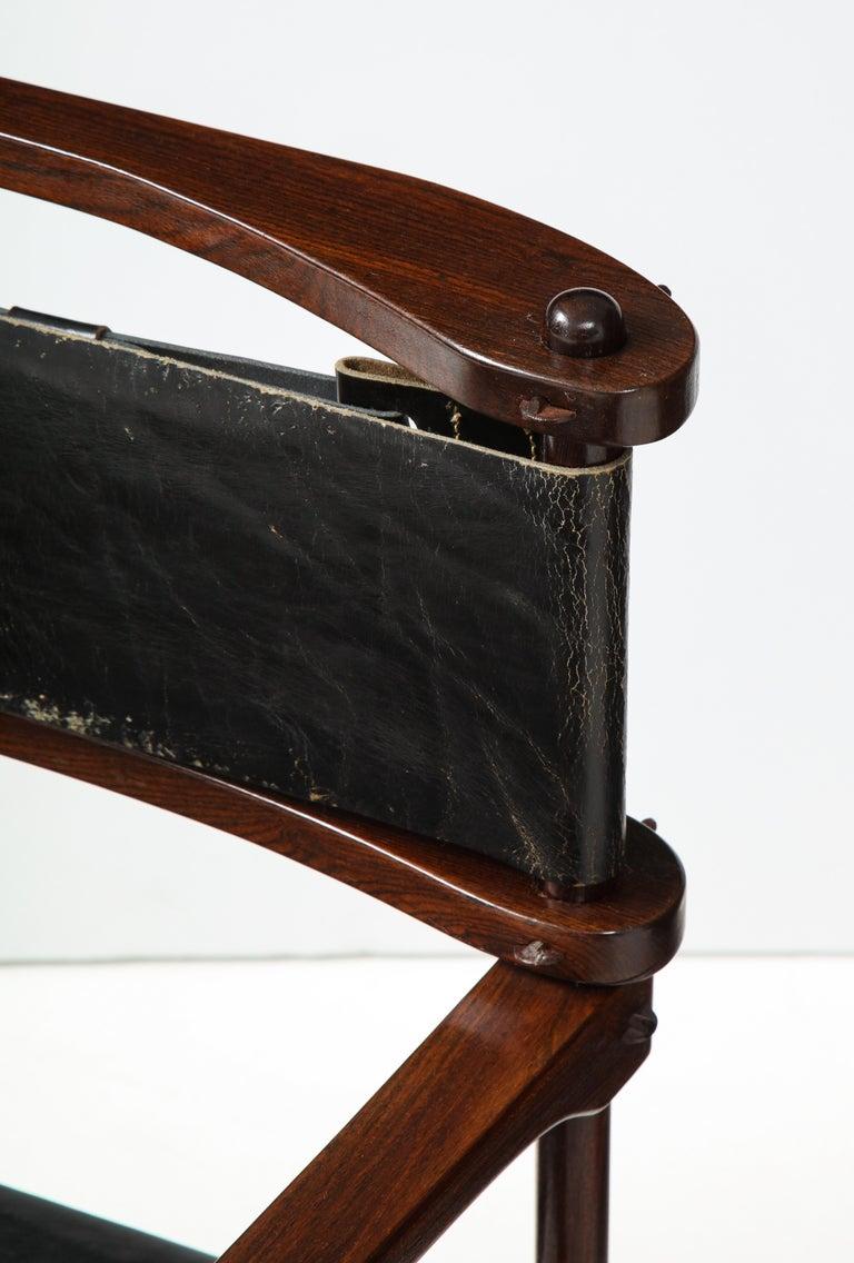 Don Shoemaker Perno Safari Chair For Sale 4