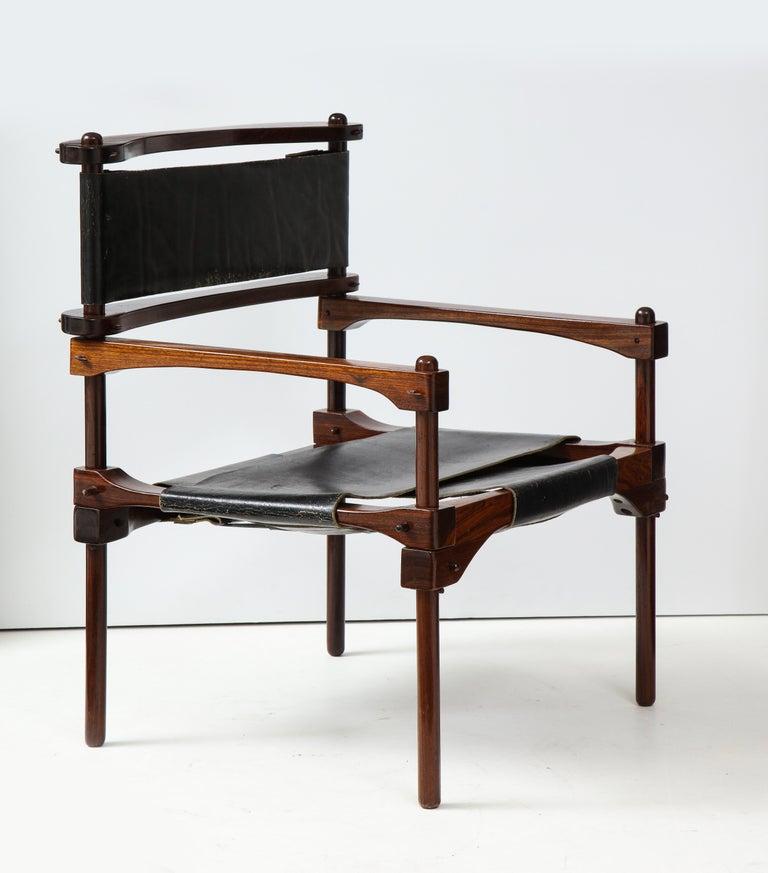 Mid-Century Modern Don Shoemaker Perno Safari Chair For Sale