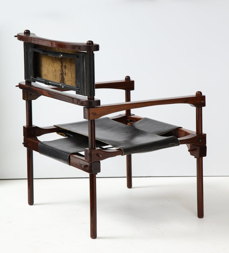 Mexican Don Shoemaker Perno Safari Chair For Sale