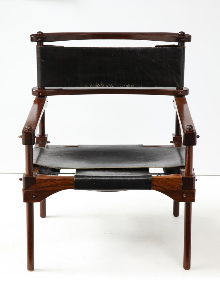 Mid-20th Century Don Shoemaker Perno Safari Chair For Sale