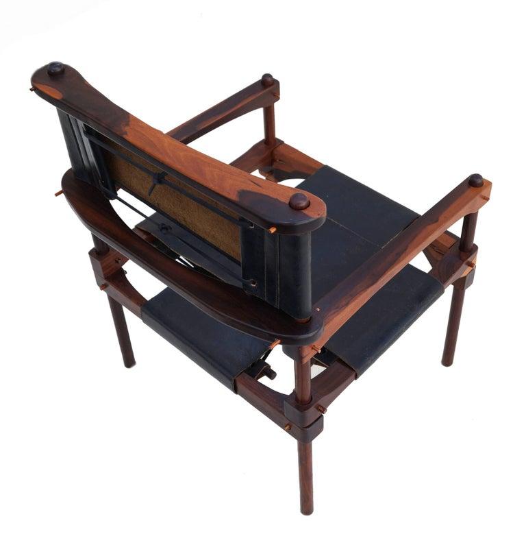 Mid-Century Modern Don Shoemaker Safari Perno Pernos Chair