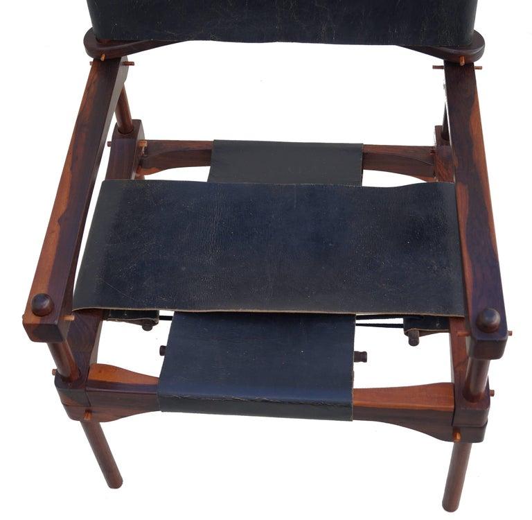 Leather Don Shoemaker Safari Perno Pernos Chair