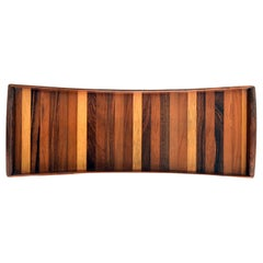 Don Shoemaker Serving Tray Made with Different Woods