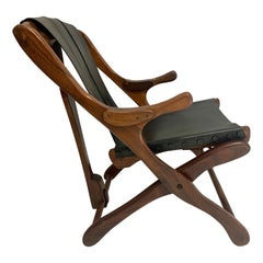 Don Shoemaker Sling Folding Armchair
