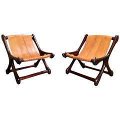 "Don Shoemaker ""Sloucher"" Sling Chairs for Señal Furniture"