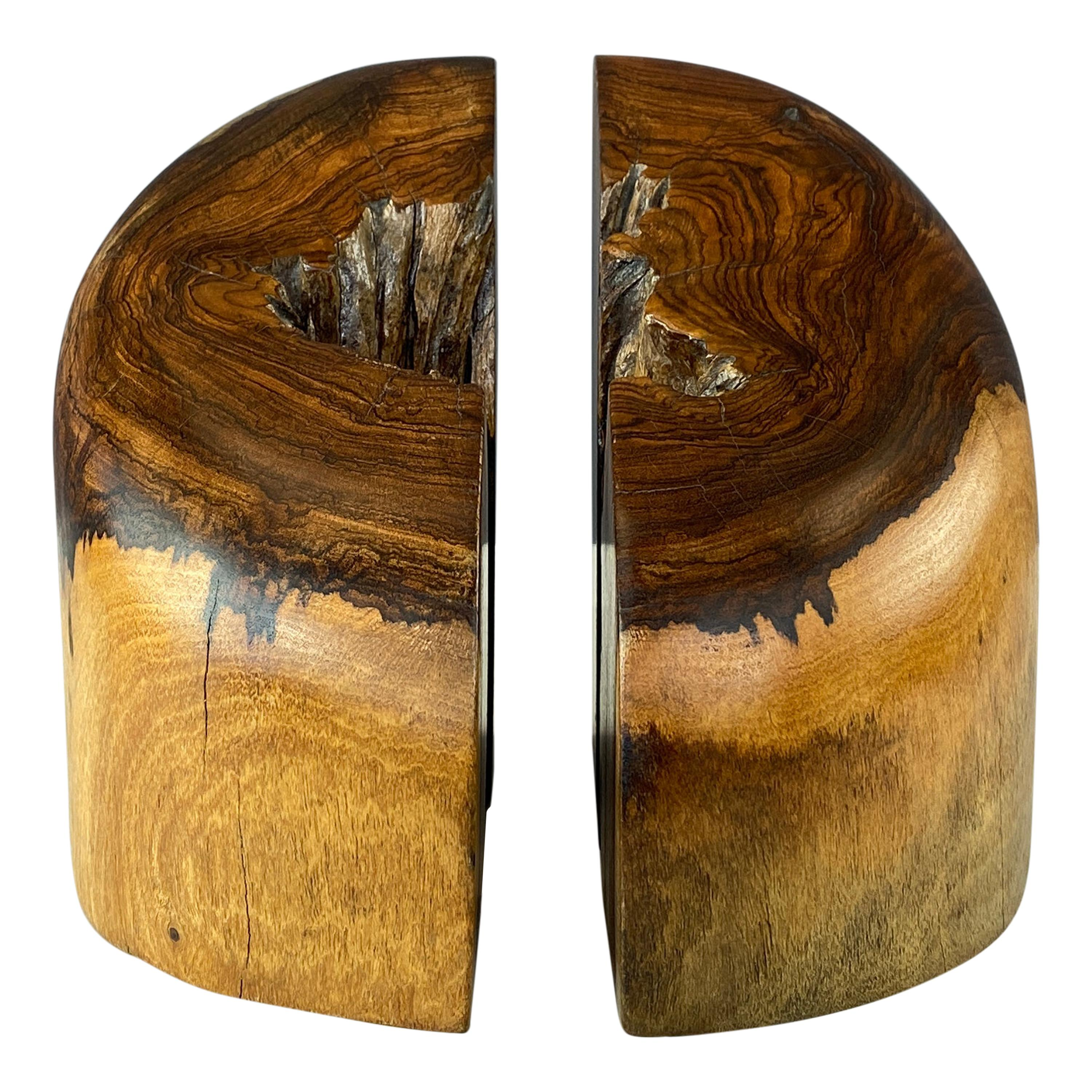 Don Shoemaker Solid Cocobolo Bookends for Señal