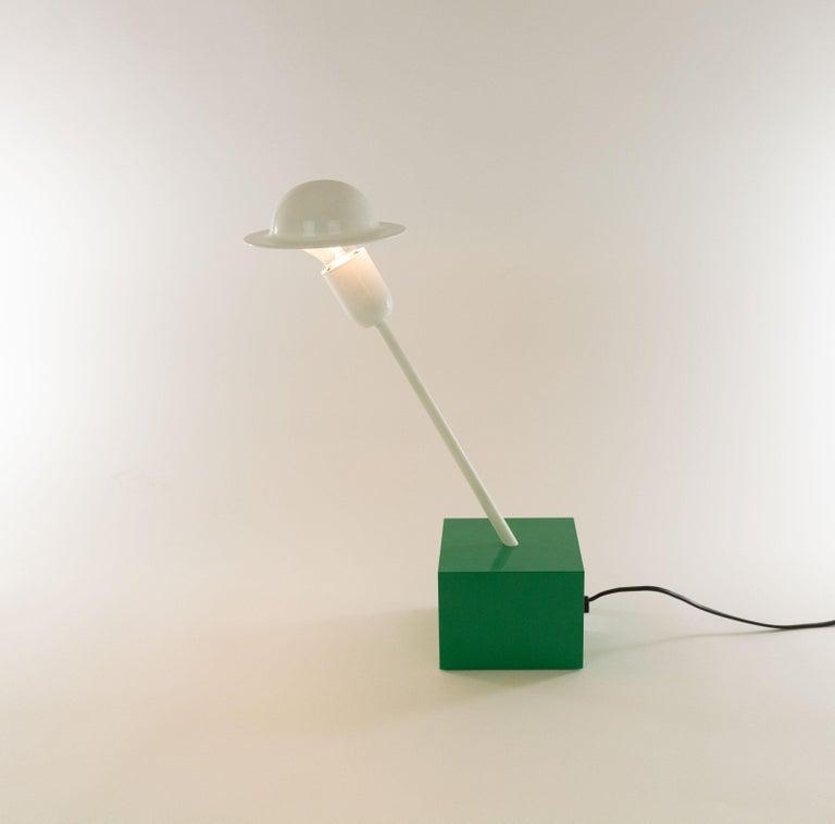 Mid-Century Modern Don Table Lamp by Ettore Sottsass for Stilnovo, 1970s