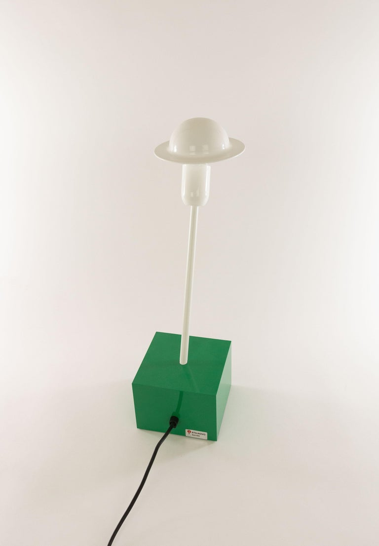 Metal Don Table Lamp by Ettore Sottsass for Stilnovo, 1970s