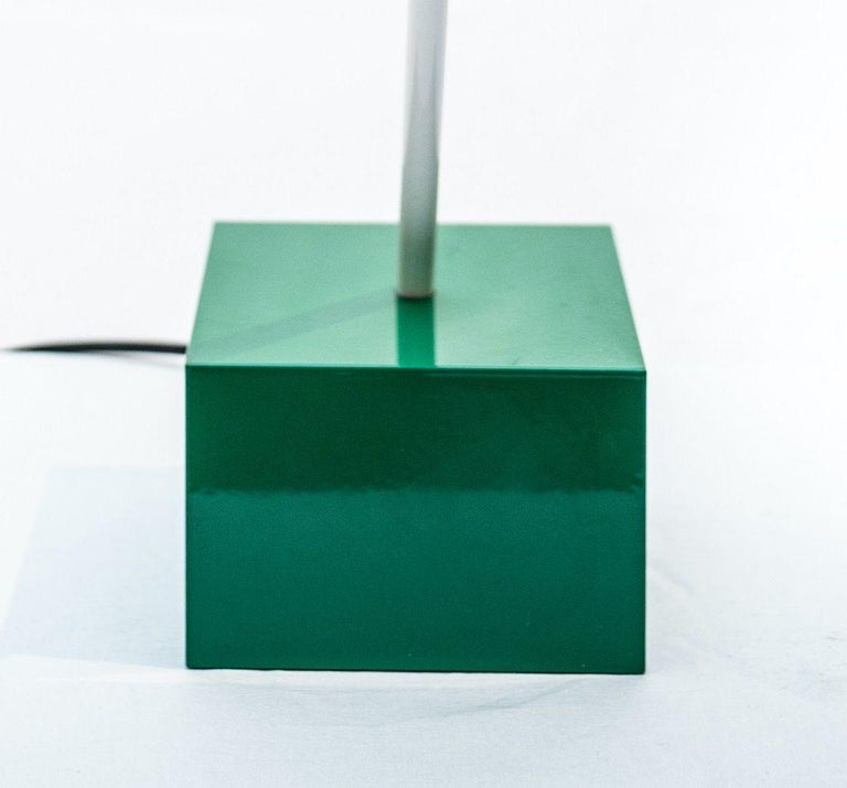 Lacquered Don Table Lamp by Ettore Sottsass for Stilnovo, 1977 For Sale