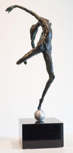 Dancer on Aluminum Ball