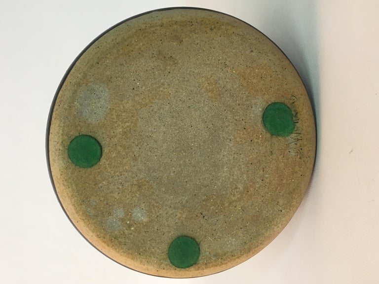 Don Williams American Studio Pottery Covered Jar For Sale 1