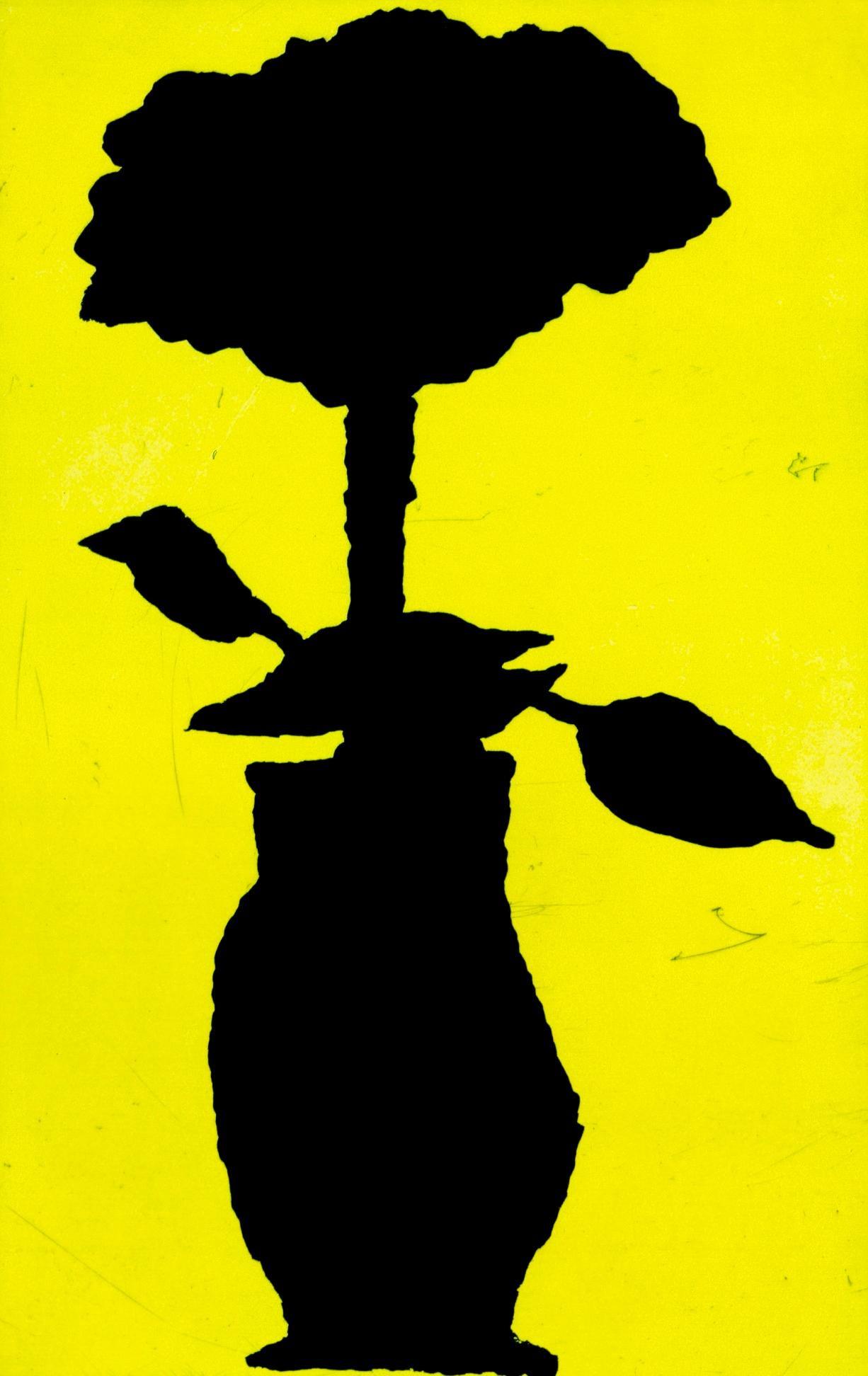 Donald Baechler Flower 2005 (Donald Baechler flower prints)