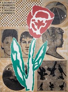 Flower - Donald Baechler, 1994, American pop-art , Screen Print