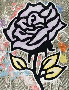 Donald Baechler, Lavender Rose