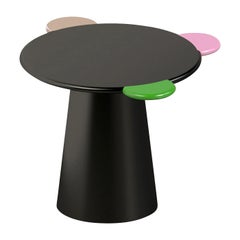 Donald Black Coffee Table by Chapel Petrassi