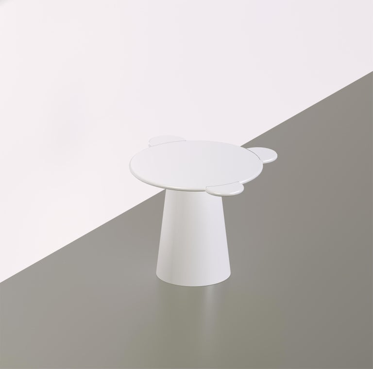 Donald Blue Monochrome Coffee Table For Sale 1