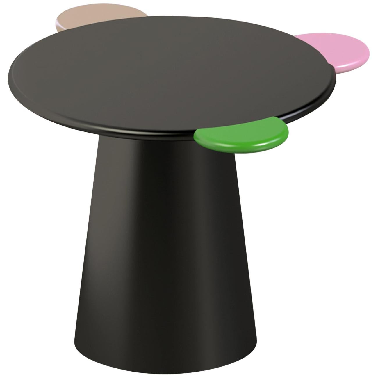 Contemporary Coffee Table Multicolored Donald Lacquered Wood by Chapel Petrassi