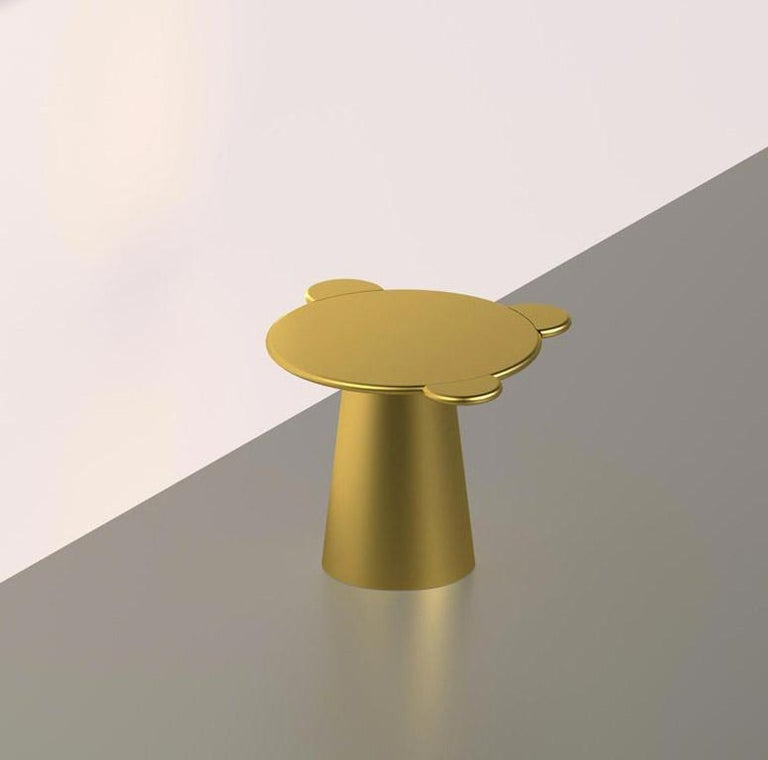 Other Donald Coffee Table Monochrome Gold For Sale