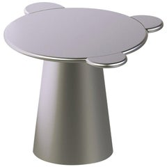 Donald Coffee Table Monochrome Silver