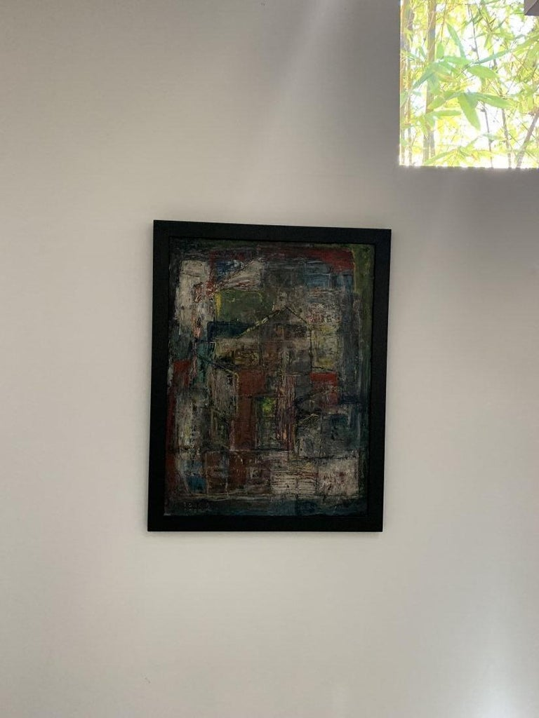 Donald Deskey Abstract Painting from The Deskey Estate For Sale 2