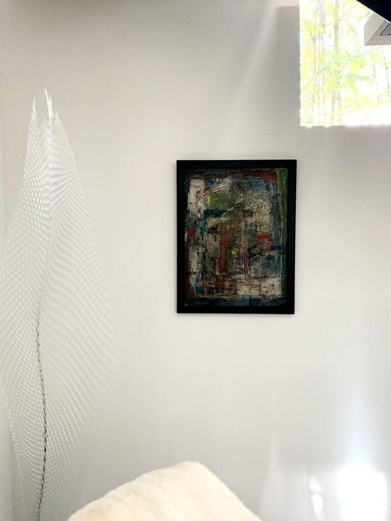 Donald Deskey Abstract Painting from The Deskey Estate For Sale 3