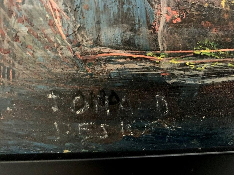 Donald Deskey Abstract Painting from The Deskey Estate For Sale 4